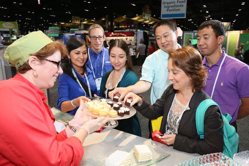 Over 23,000 attendees sampled food on the expo floor at IFT15 in Chicago, Illinois